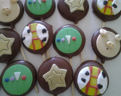 Pirulitos De Chocolate toy story
