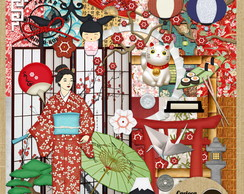 Kit para Scrapbook#267 Japan