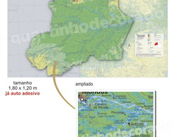MAPAS DO BRASIL MOD.03 ESTADO RR/AM/AC