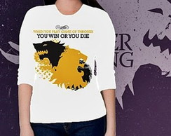 CAMISETA FEMININA 3/4 - GAME OF THRONES