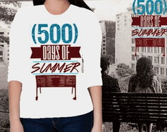 CAMISETA FEMININA 3/4 - DAYS OF SUMMER