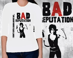 CAMISETA FEMININA 3/4 - BAD REPUTATION