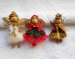 Tiny Christmas Faeries