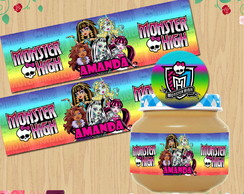 Etiqueta Monster High