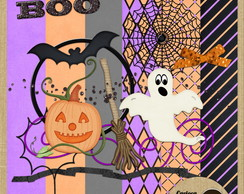 Mini Kit para Scrapbook#259 Boo!