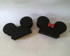 Porta Guardanapo Mickey / Minnie