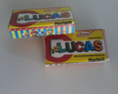 Chicletes personalizados