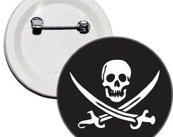 Boton Pirata Jolly Roger