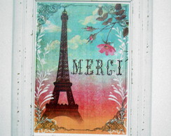 Quadro Decorativo Merci