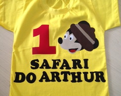 CAMISETA OU BODY MICKEY SAFARI