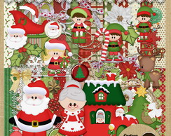 Kit Scrapbook#277 I love Santa!