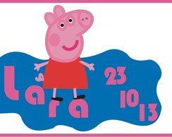 Rótulo Digital - Peppa Pig
