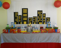 Kit Festa Super Heroes (5 Artes)