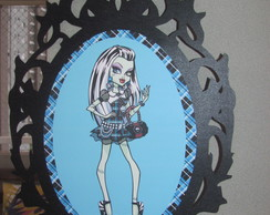 KIT 50 TOPPERS+3 MOLDURAS-MONSTER HIGH