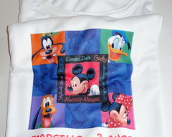 "Camiseta ""Turma do Mickey"""