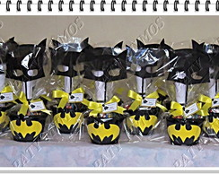 Kit 10 Centros de Mesa do Batman