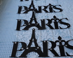 Paris para decorar mesa - Festa Paris
