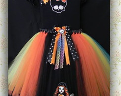 Conjunto Monster High inspirado Skelita