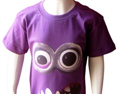 Camiseta Infantil Minion Do Mal 2