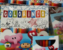 Kit Colorir Pocoyo