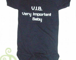 "Body Bebê ""VERY IMPORTANT BABY"""
