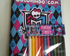 Kit Colorir - Monster High