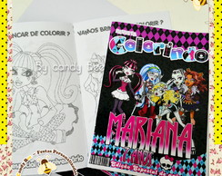 Revista Personalizada Monster High