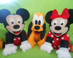 CENTRO MESA DISNEY MICKEY MINNIE FELTRO