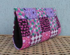 Clutch Falso Patchwork