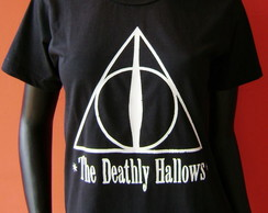 T Shirt Harry Potter Relíquias da Morte