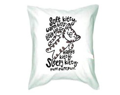 almofada Soft Kitty The Big Bang Theory