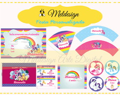 Kit Festa Digital My Little Pony