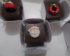 Bombom Chocolate Ao Leite Decorado para Natal