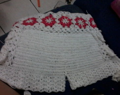 Shorts e Mini Saias de Crochê