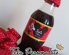 Rótulo De Mini Coca-cola Minnie