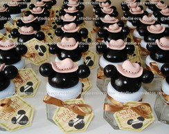 vidrinhos SAFARI do MICKEY ou MINNIE