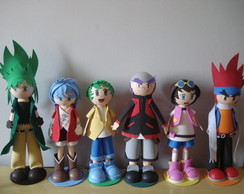 KIT PERSONAGENS BEYBLADE