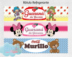 Rotulo Mini Refrigerante