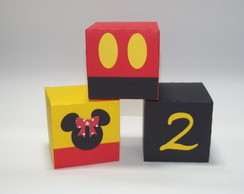 Cubo da Minnie e Mickey