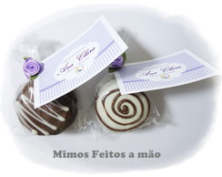 Mini Pães de Mel recheados e  decorado!!