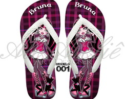Sandália Monster High Personalizada