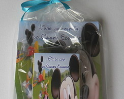 Mini- Kit Colorir Tema Mickey 10x14cm