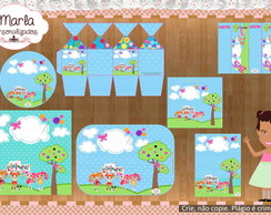 Kit festa DIGITAL Lalaloopsy