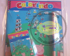 Kit para colorir Peppa Pig