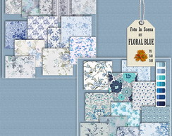 Digital kit FLORAL BLUE