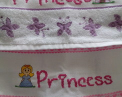 Kit Toalha De Lavabo Princess