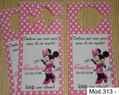Tags para Retrovisor de Carro Minnie