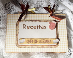 Caderno de Receitas - Do Chef