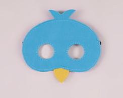 máscara de passarinho elo7