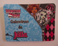 Tampa para marmitinha Monster High